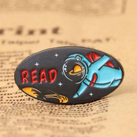 Spaceman Custom Pins Cheap